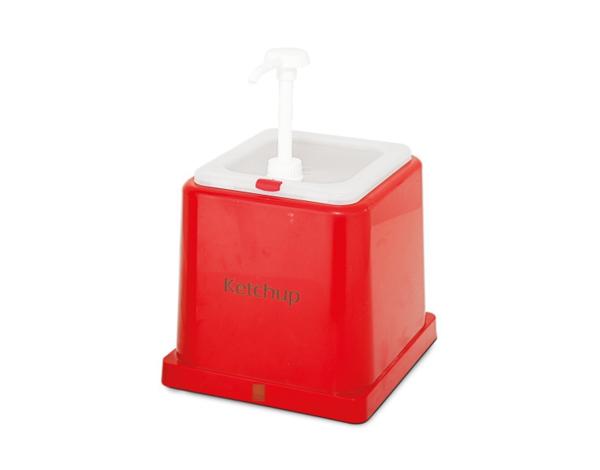 KAPP 46010022   Ketchup Dispenser / Plastic 2lt
