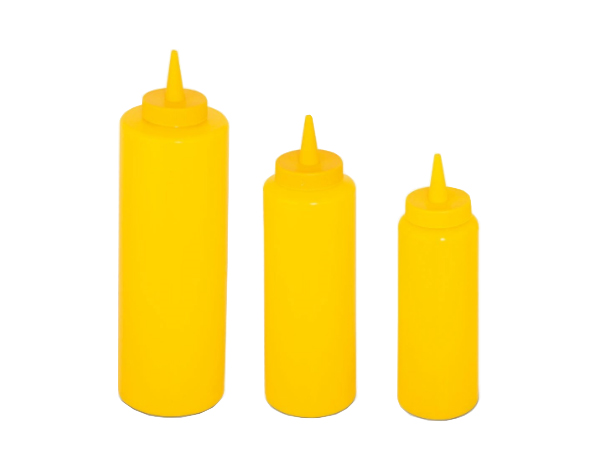 KAPP 43032250   Mustard Bottle / Plastic 0.25lt