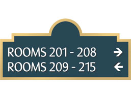 Room Numbers Signs