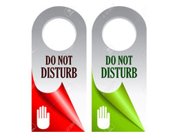 Do Not Disturb Cards